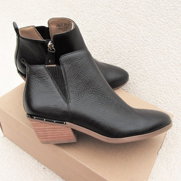 6,5 new Dr. Scholl's Largo leather ankle boots